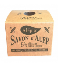 Savon d'Alep traditionnel 5 %